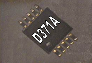D371A Electroluminescent Lamp Driver IC